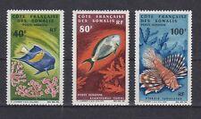 Fische Meerestiere  Französisch Somaliküste  382 - 84    **  (mnh)