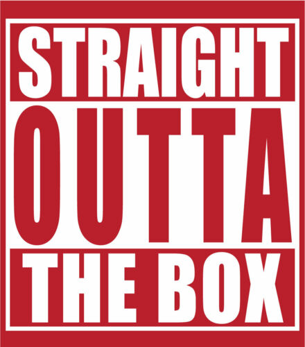 """/""""STRAIGHT OUTTA/"""" T-shirt to Match Retro 12 /""""GYM RED/"""""""