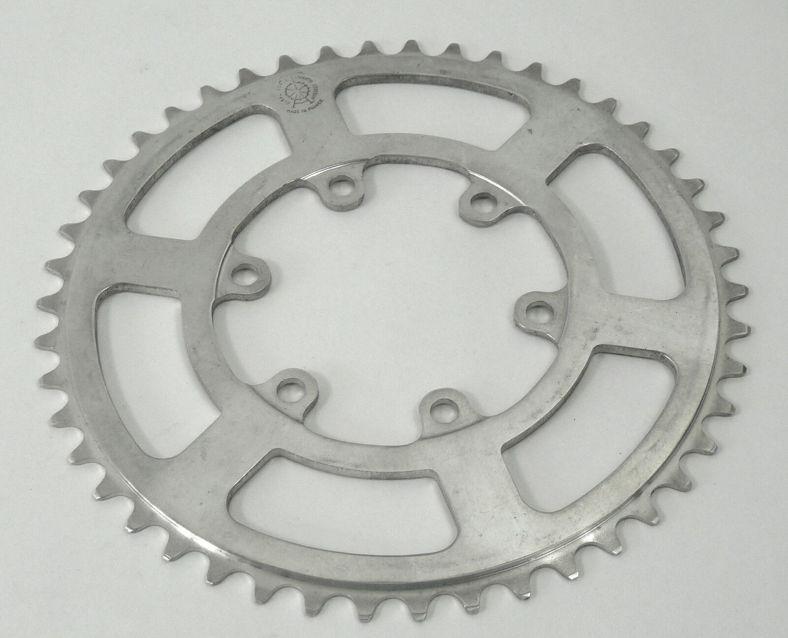 T.A. Chainring 46T REINFORCED Road 80 BCD TA REF  208 VINTAGE 3 32  46 NOS