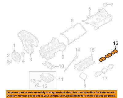 Genuine Nissan Gasket 14032-4RA0A