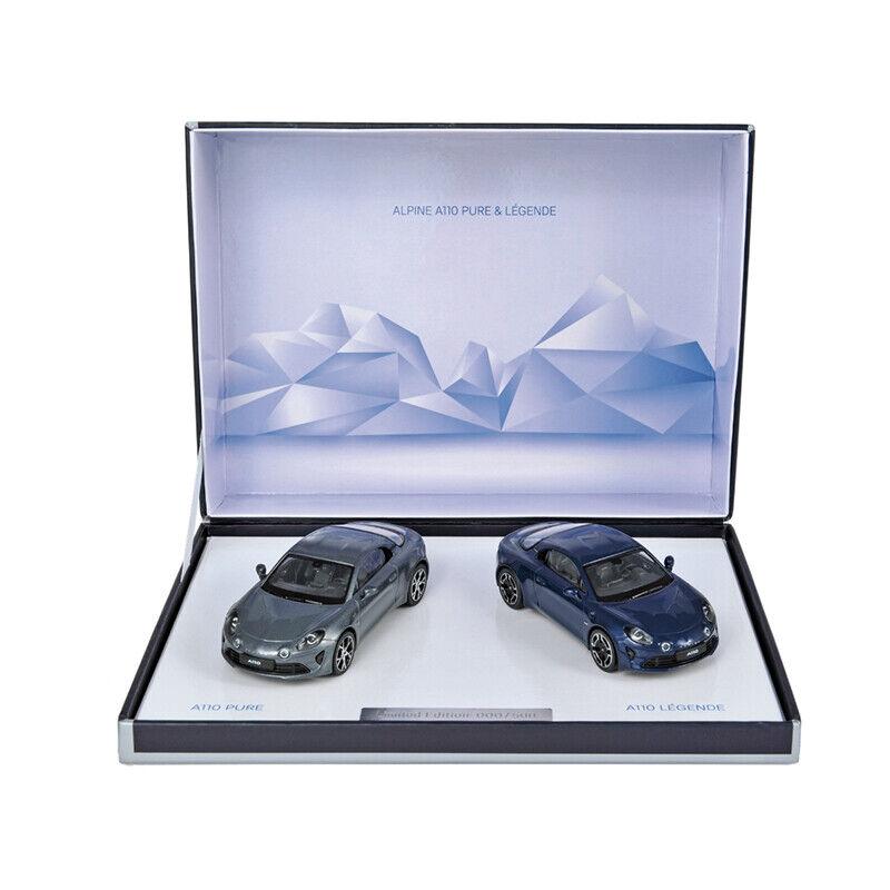 NOREV 517864 Coffret Alpine a110 Pure & légende 2018 Limited Edition 1 43 Nouveau  °