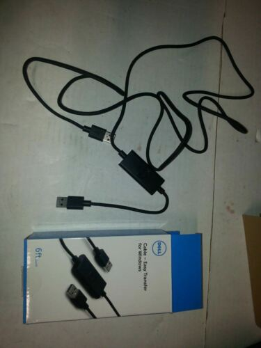 Details about  /DELL RJ57K CBEBEAF064 Easy Transfer USB 2.0 Plugable Transfer Cable
