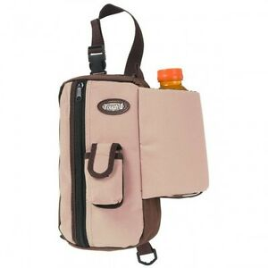Tough 1 Tan Brown Nylon Gear Pouch Water Bottle Holder