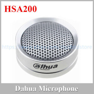 Dahua-DH-HSA200-Hi-Fidelity-Audio-Abnehmer-Mikrofon-fuer-Audio-und-Alarm-Kamera
