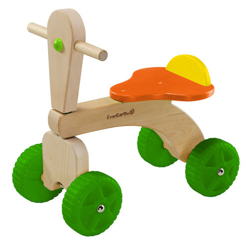 Everearth 33716 trike - holz   hd -   nichttoxische farbe - boys & girls-36mos + - deal