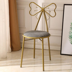 Peachy Details About Butterfly Dining Chair Stool Makeup Chair Modern Simple Dressing Table Stool Bralicious Painted Fabric Chair Ideas Braliciousco
