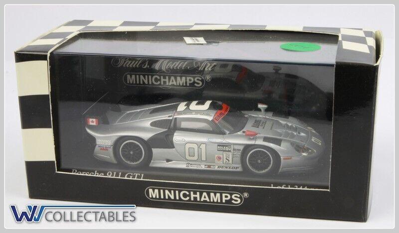 Minichamps 1 43 Porsche 911 gt1 Daytona 2001 1 of 1344 PCs