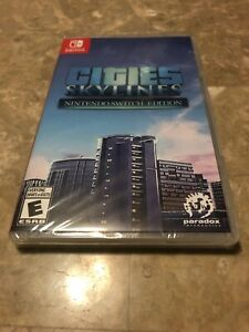 Cities-Skylines-Nintendo-Switch-Edition-New-Sealed-Fast-Free-Shipping