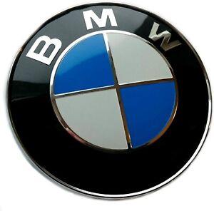 Logo-BMW-82mm-Insigne-Capot-Coffre-Embleme-E46-E90-E92-E60-E34-E36-E39-X3-X5-X6