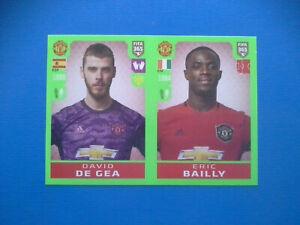 Figurine-Panini-Fifa-365-2019-20-2020-n-60-De-Gea-Bailly-Manchester-United