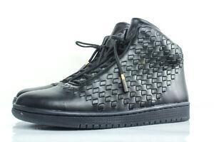 New NIKE Air Jordan SHINE 11.5 leather basketball shoe 0 black Michael hi top