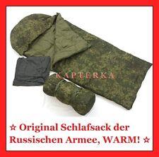 ☆ ORIGINAL RUSSISCHE ARMEE SCHLAFSACK DIGITAL FLORA ZIFRA + INLET, NEU! ☆