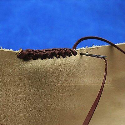 2 Stlye Super Leather lacing threading needle kits