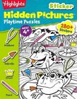 Highlights Sticker Hidden Pictures(R) Playtime Puzzles by Highlights for Children (Paperback, 2013)