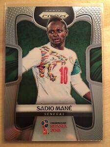 2018 Sadio Mane Panini Prizm World Cup Soccer Senegal #282