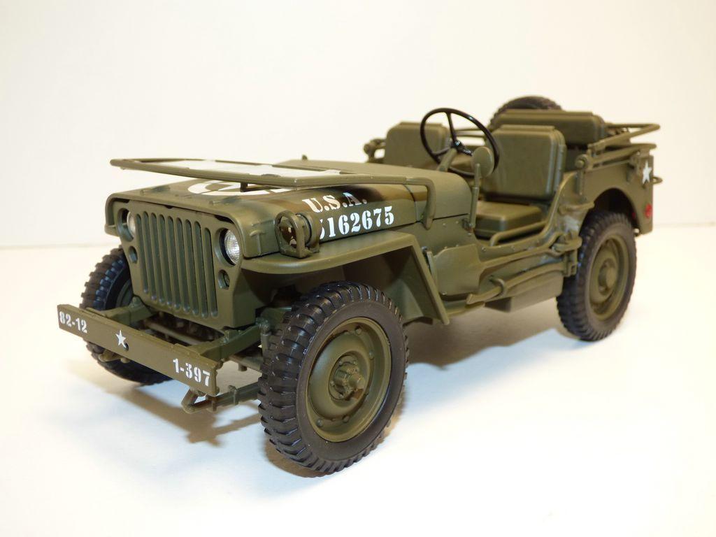 JEEP WILLYS 1 18 US Army WW2