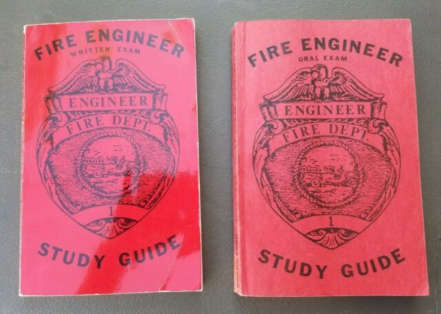 FIRE ENGINEER WRITTEN EXAM and ORAL EXAM STUDY GUIDE By Arhtur R. Couvillon