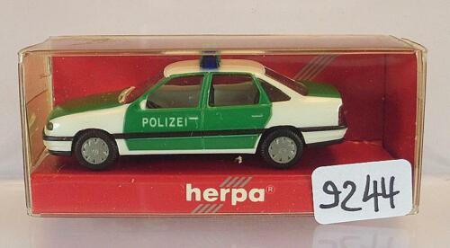 Herpa 1//87 Nr.4130 Vectra Stufenheck Polizei OVP #9244
