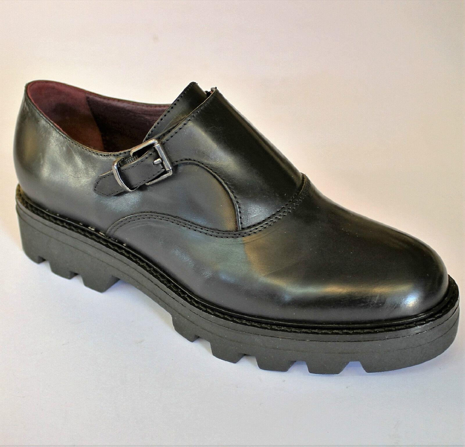 SOGNO DI DONNA scarpa italiana giovane bassa fibia MORENA DONNA  pelle nero MORENA fibia 9459 9e52ac