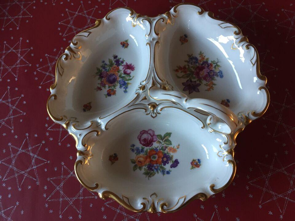 Porcelæn, Cabaretfad, JLMENAU Graf von Henneberg