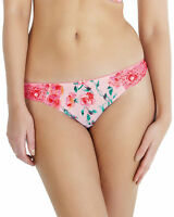 New Cleo by Panache Ellis Thong Pink Floral Rose Print 7219 VARIOUS SIZES