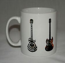 Metal Guitar Mug #2. 5 Metal guitar illustrations.