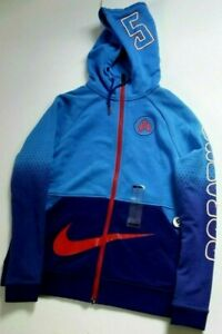 Details about Nike Doernbecher Womens Jacket Breathe Hoodie Chloe Freestyle Small Blue Red CF