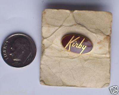 RARE Kirby Vacuum Cleaners Gold & Enamel Salesman Service Lapel Pin
