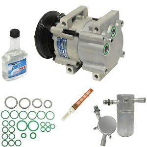 New-A-C-Compressor-and-Component-Kit-KT-1640-4R3Z19V703AA-Aerostar