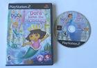 Dora the Explorer: Dora Saves the Mermaids (Sony PlayStation 2, 2008) case +game
