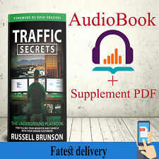 New Traffic Secrets 2020 Audiobook + supplement [p-d-f] by Russell Brunson
