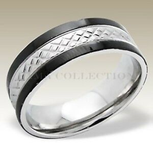 High Quality FAMA Stainless Steel Band Ring Matte Finish Comfit Fit Band Size 12