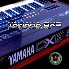 YAMAHA DX5 HUGE Original Factory & New Created Sound Library/Editors on CD