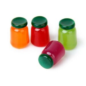 4-bottles-of-food-flavor-mix-fruit-jam-Food-Store-1-12-Miniature-doll-house-T5H7