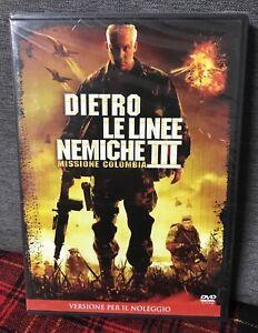 Dietro Le Linee Nemiche 3 Missione Colombia DVD Rent Nuovo WWE Mr. Kennedy III