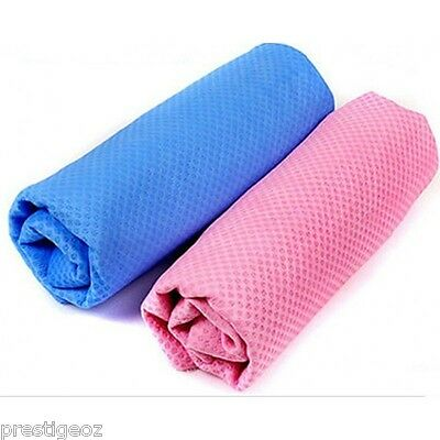 Ice Cold Cooling Towel Fever migraines hot flushes and menopause