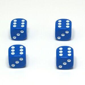 Set-of-Four-Blue-Dice-Dust-Caps-X4-80-039-s-Retro-Valve-Caps-BMX-VW