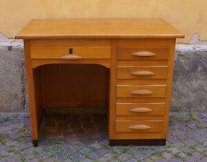 Scrivania Ufficio Faggio : Idea panel scrivania per ufficio con penisola e cassettiera