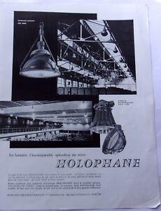 publicite-de-presse-LUMINAIRES-HOLOPHANE-en-1961-ref-62324