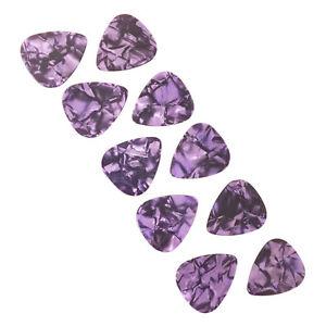 Guitar-Picks-Purple-Lot-of-10-Cheap