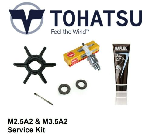 2.5hp//3.5hp Tohatsu M2.5A2 /& M3.5A2 2-Stroke Outboard Service Kit