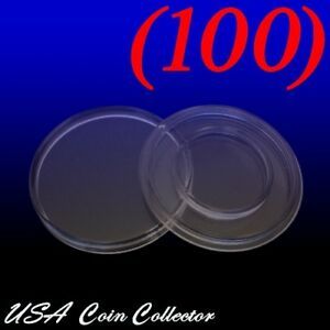 100 Air-Tite A-16 Coin Holder Direct Fit Capsules for $5 1//10 oz Gold Eagles