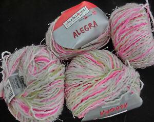 5-50-100-g-200-g-ALEGRA-Schoeller-Stahl-Fb-850-weiss-pink-gruen-rosa-2631