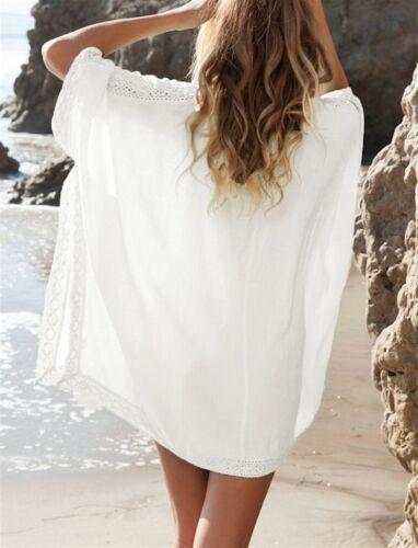 Vestito Copricostume Donna Mini Dress Caftano Woman Cover up Kaftan COV0024