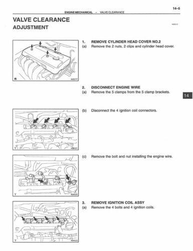 2003 Toyota Corolla Shop Service Repair Manual Book Engine Drivetrain OEM