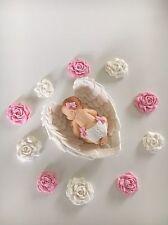 Baby Fondant Zuckerfigur Tortendekoration Deko Taufe Geburt