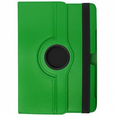 Borsa Custodia Book Case Rotated Per Samsung Galaxy Tab 4 7.0 Verde