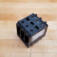 Marathon 1323580 Power Distribution Block 3 Pole 600v Used