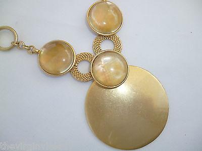 Virgin Vie 'GOLD DUST' Necklace / Earrings Shell  *NEW*  GIFT/PRESENT
