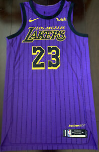 Lakers Lebron James Team Issued